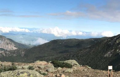 Franconia Ridge Trail Panorama