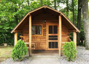 KOA Campground Cottage Located in Lincoln Woodstock New Hampshire
