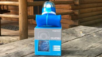 Magiclocci Collapsible Water Bottle 750ml Collapsed