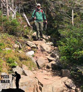 Me Descending Franconia Ridge Trail