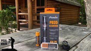 FENIX FLASHLIGHT PD35 V2.0