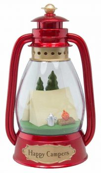 Hallmark Keepsake 2016 Happy Campers Lantern Ornament