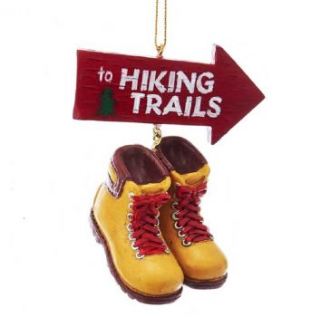 Kurt Adler Hiking Trails Hiking Themed Ornament