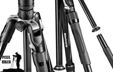 Picture of a MANFROTTO BEFREE 2N1 COMBINATION ALUMINIUM TRIPOD MONOPOD