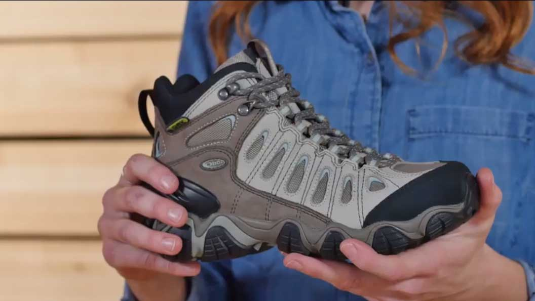 37ad23d439e OBOZ SAWTOOTH MID BDRY HIKING BOOTS WOMENS