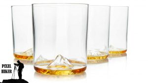 HUCKBERRY WHISKEY PEAKS ROCKS NATIONAL PARKS WHISKEY GLASSES