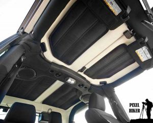 Rugged Ridge Jeep Hard Top Insulation Kit