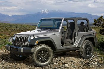Picture of a Jeep Willys Wrangler JK