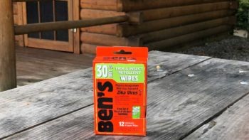 Bens 30 Percent DEET Mosquito Tick and Insect Repellent Wipes