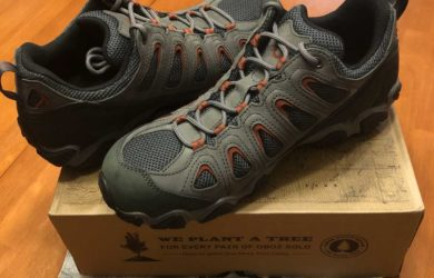 Mens Oboz Sawtooth II Low Hiking Shoes Angle