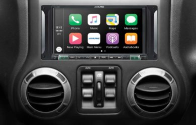 Alpine Restyle i207-WRA Jeep Head Unit