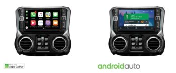 Jeep Alpine X209-WRA-OR Apple CarPlay Android Auto