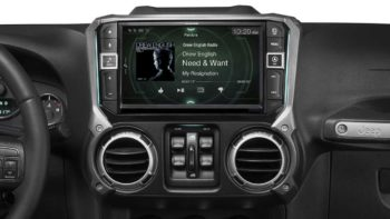 Jeep JK Alpine i209-WRA In-Dash Restyle System