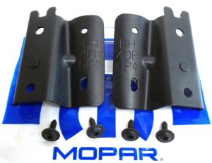 Jeep Wrangler JK Unlimited Soft Top Bow Brackets
