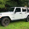 Jeep Wrangler Unlimited with Soft Top Installed