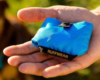 Folded Ruffwear Trail Runner Dog Bowl